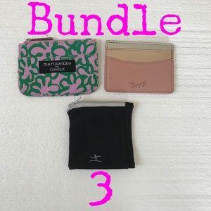 ID WALLETS bundle of 3